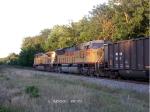 UP 7160 & 8199 Weston Coal Loads